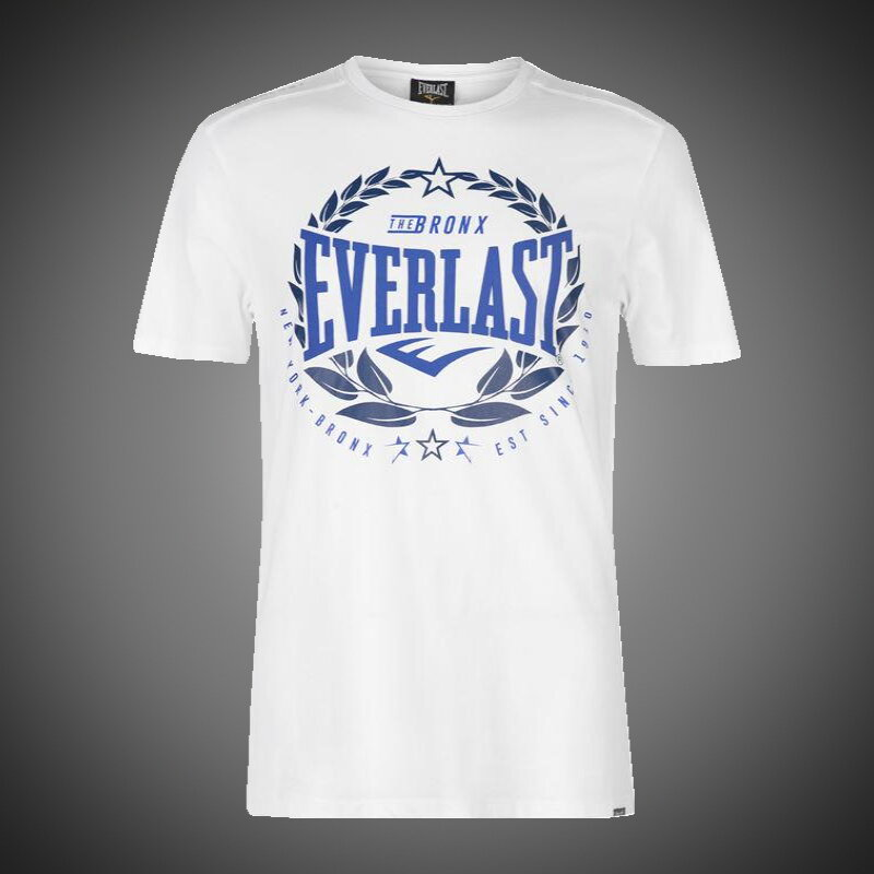 Pánské tričko Everlast Bronx Lauren white 5c21f3da7a