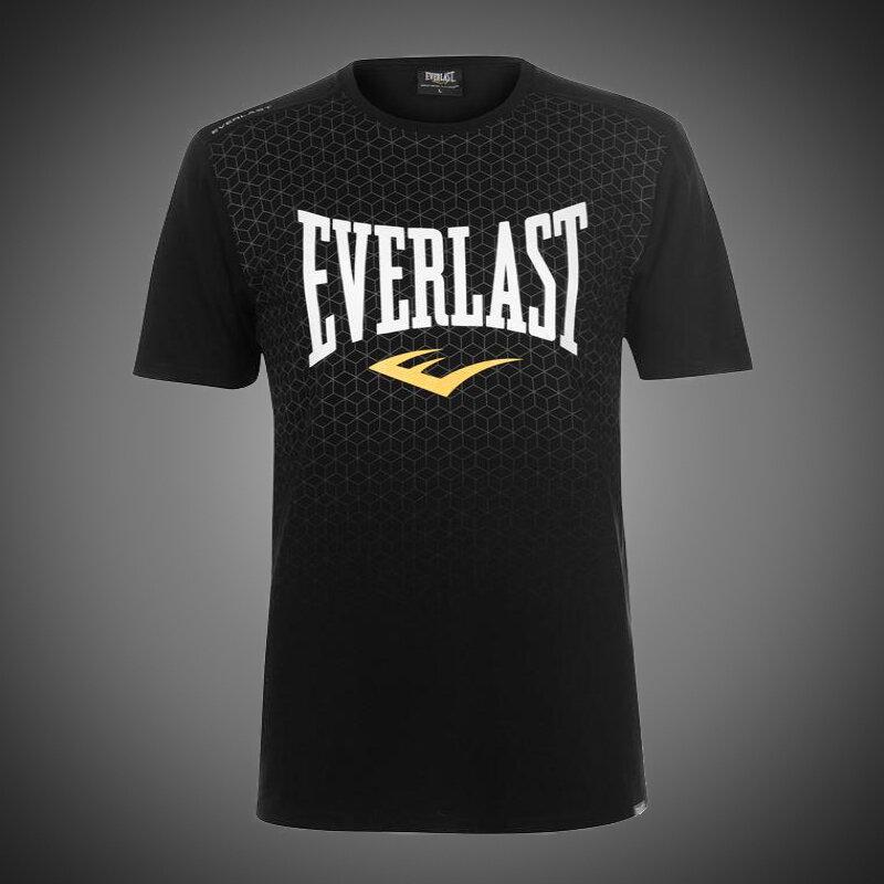 Pánské tričko Everlast Geo black 31979fffe8