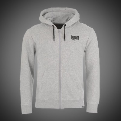 Pánská mikina Everlast Basic zip light grey