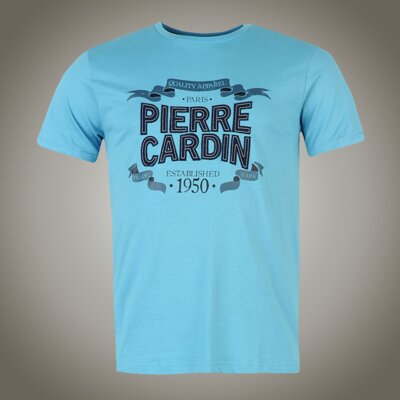 Tričko PIERRE CARDIN Established blue