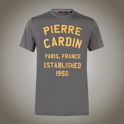 Pánské tričko Pierre Cardin France Established grey