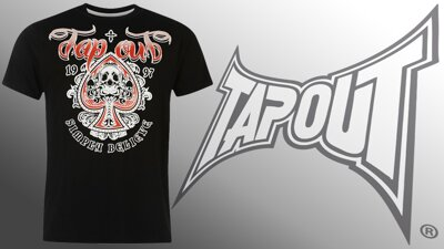 Tričko TAPOUT Ace of Spades black