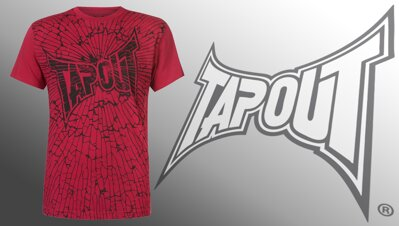 Tričko Tapout Crash red