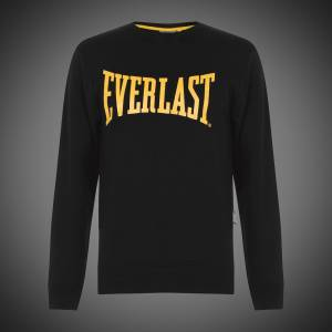 Mikina Everlast sweatshirt logo black