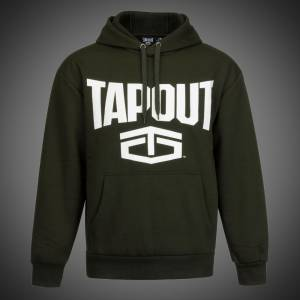 Mikina Tapout new logo army green