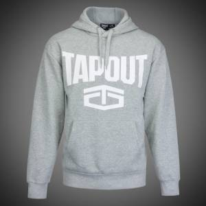 Mikina Tapout new logo grey