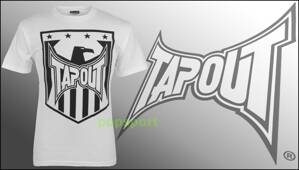 Tričko TAPOUT Shield white