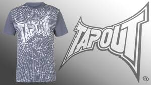 Tričko Tapout Crash grey