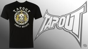 Tričko TAPOUT Simply Believe Swords black